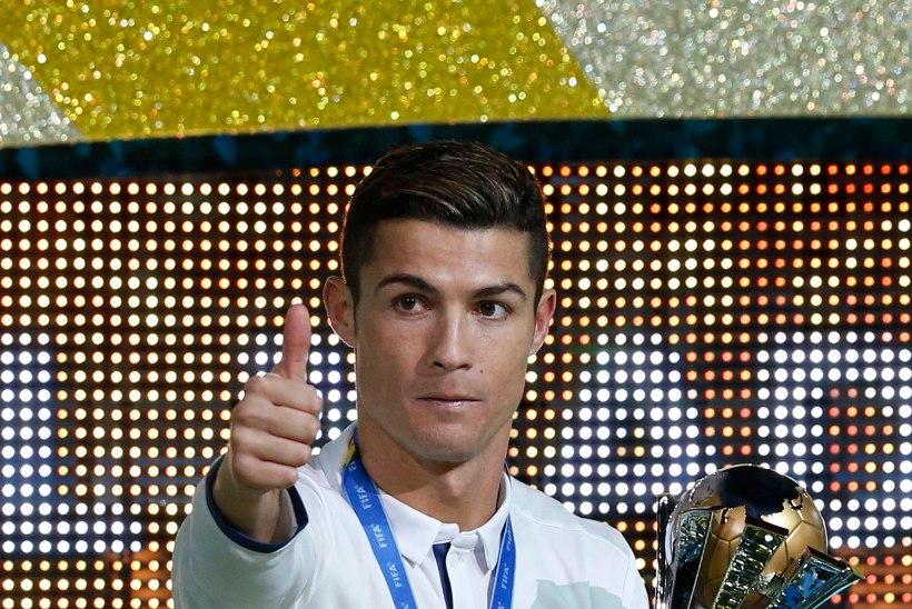 Cristiano Ronaldo videotervituses Süüria lastele: ärge kaotage lootust!