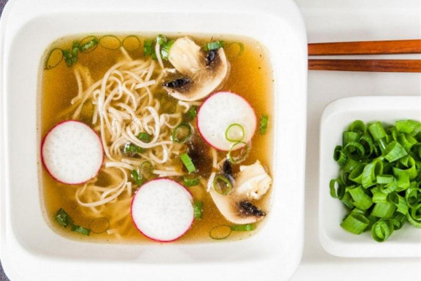Jaapanipärane supp tatrapastaga