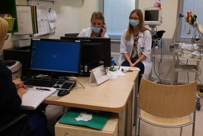 Arstid rabavad, kuis jaksavad, aga nurin ei vaibu: miks on EMOs järjekord nii pikk!