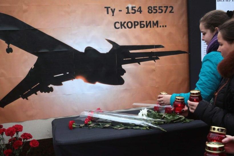 Pühapäeval alla kukkunud Vene sõjaväelennuki must kast on leitud