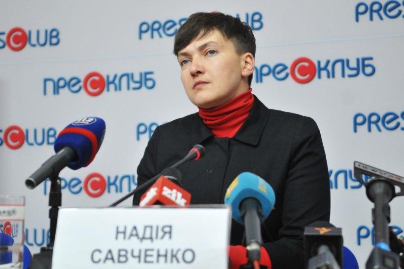 Nadia Savtšenko asutas Ukrainas opositsiooniliikumise RUNA