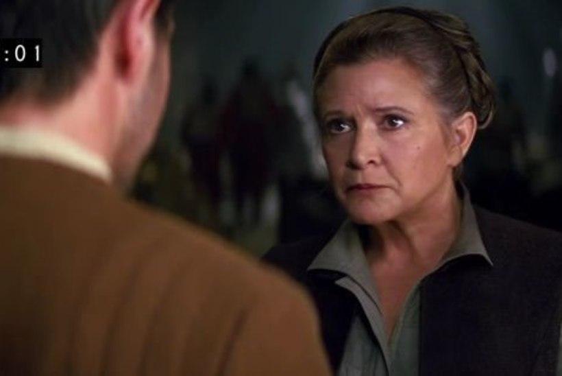 """Printsess Leia ehk Carrie Fisher jõudis enne surma filmitud kõik stseenid """"Tähesõdade"""" sarja kaheksanda filmi jaoks"""
