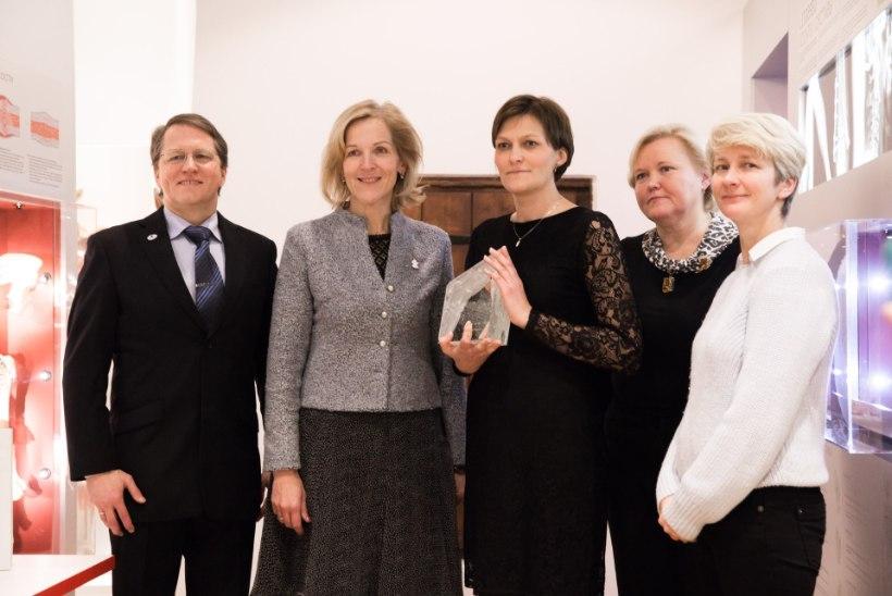 Aasta arst Reet Tooming tuli Tallinna otse rindejoonelt
