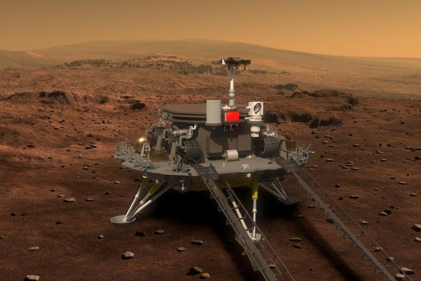 Hiina: lendame 2020. aastal Marsile