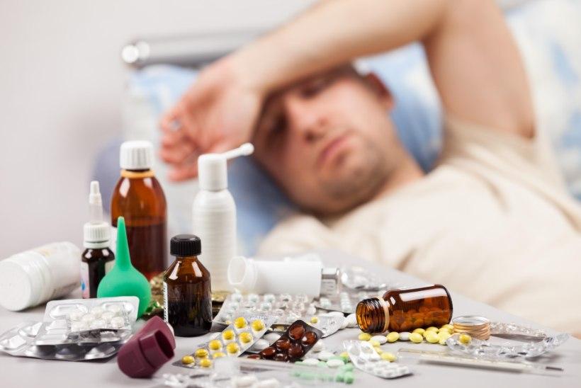 Grippi haigestumine kasvab, kolm inimest on juba surnud