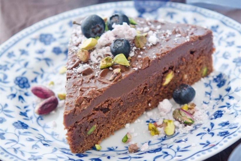 Superluks šokolaadikook pistaatsiapähklitega