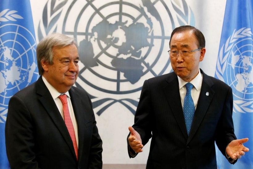 ÜRO peasekretärina asub tööle sotsialist, katoliiklane Guterres