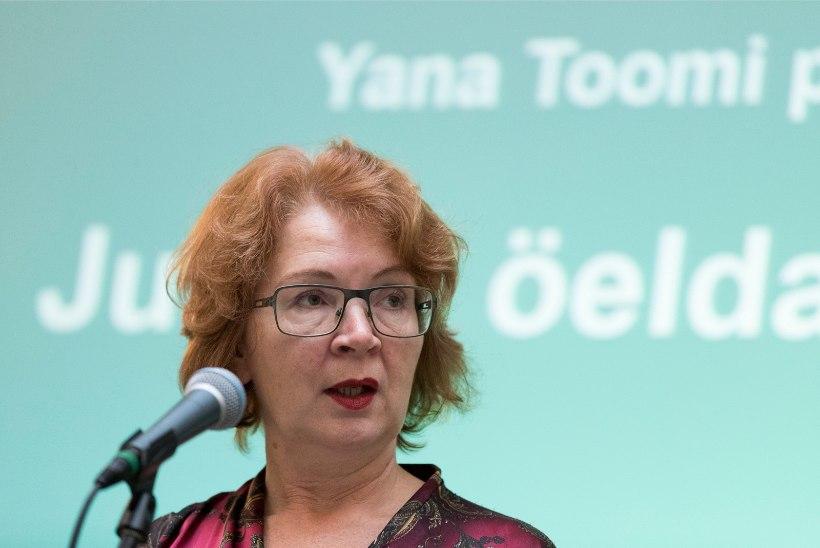 Yana Toom võib tuleval sügisel kandideerida Narvas