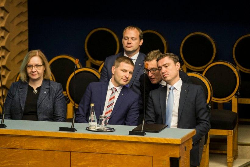Reformierakonna uueks juhiks pakuvad ennast Pevkur ja Michal