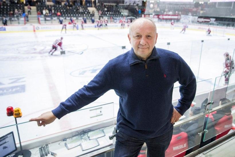 KHLi asepresident: oma klubi jaoks peab teil olema 10 Eesti mängijat