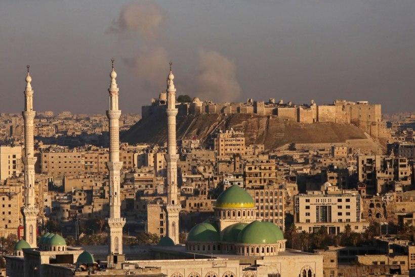 Mässulised jätsid Aleppo vanalinna