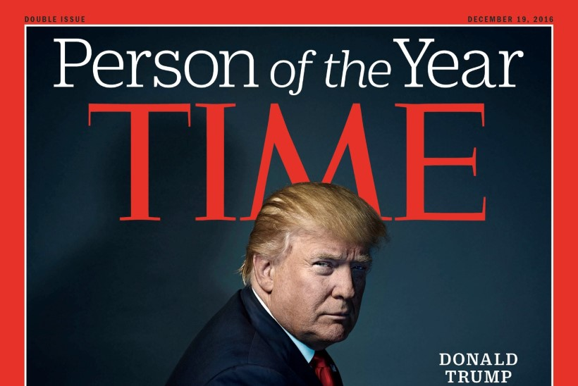 Ajakiri Time valis aasta inimeseks Donald Trumpi