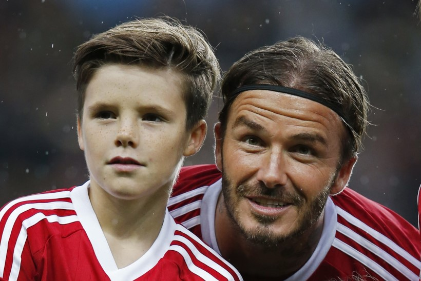 Beckhamid tahavad noorimast pojast uut Justin Bieberit teha