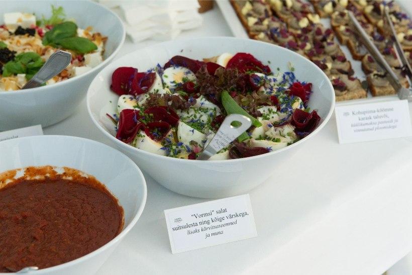 PEAKOKK ANNAB ARU: presidendilossi menüüs on peaaegu kõik eestimaine