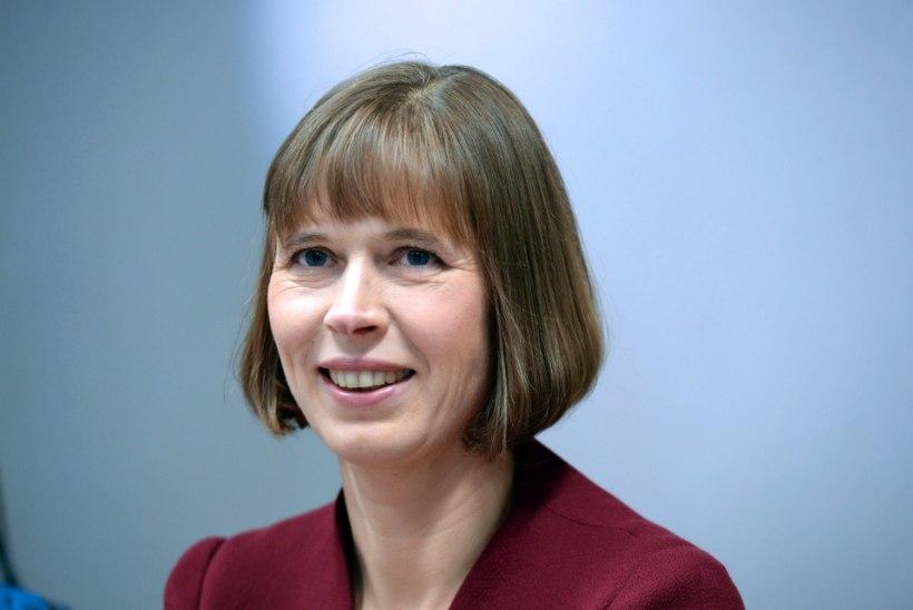 President Kaljulaid kohtus Brüsselis NATO peasekretär Jens Stoltenbergiga