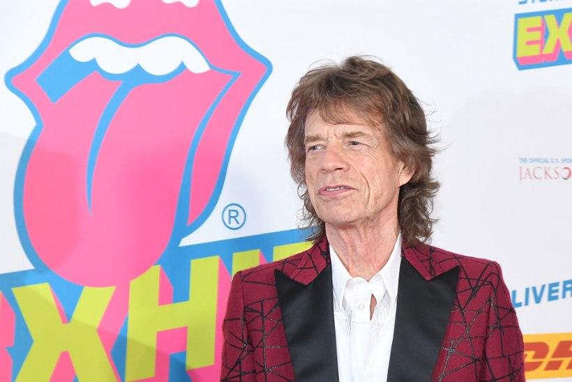 Rolling Stonesi solist Mick Jagger sai kaheksanda lapse