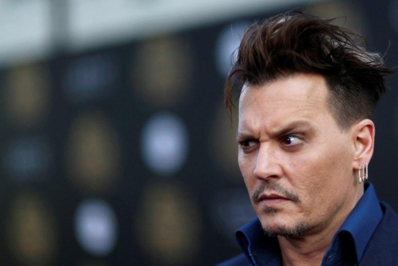 Depp on endiselt Hollywoodi ülemakstuim näitleja