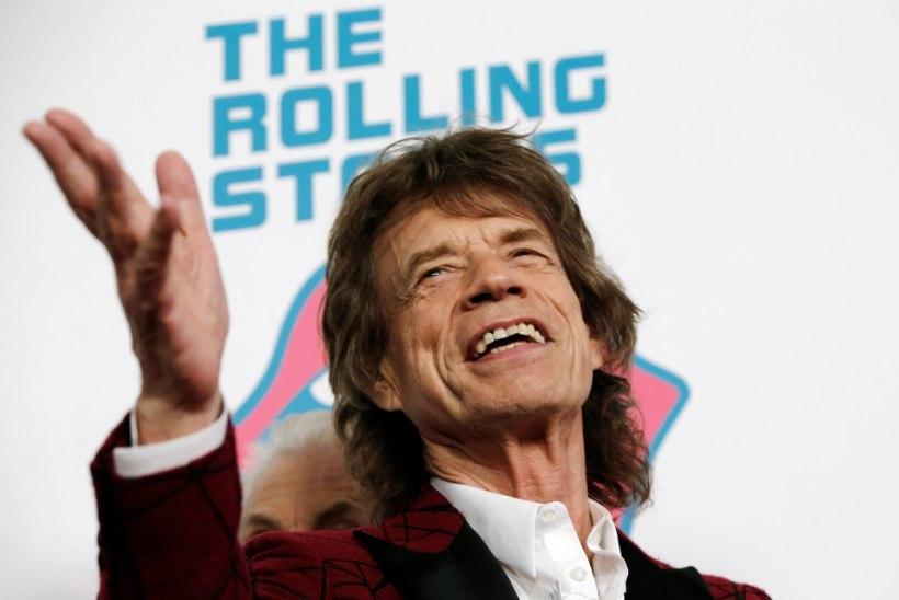 73aastane Mick Jagger sai kaheksanda lapse