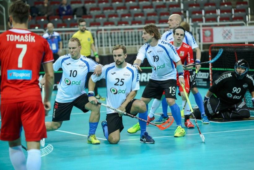 7 KÜSIMUST   Kõik, mida pead teadma saalihoki MMi matšist Eesti – Taani