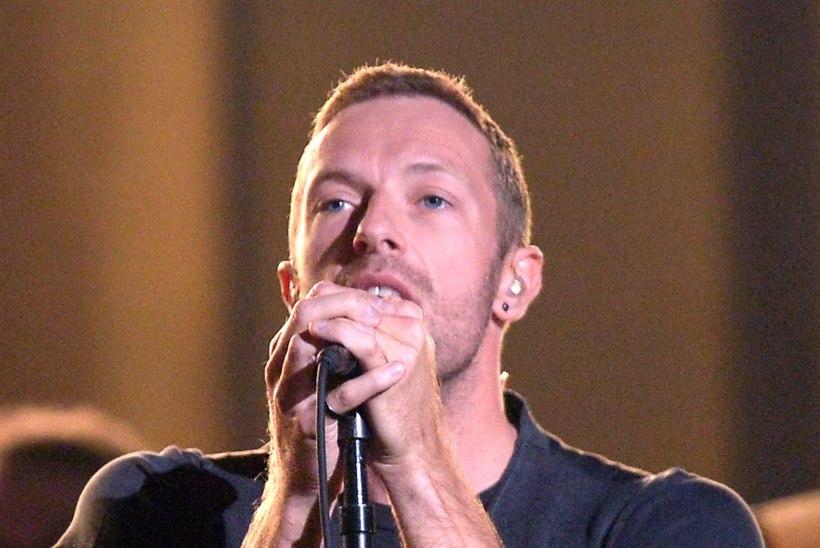Coldplay solist: paast parandab mu häält