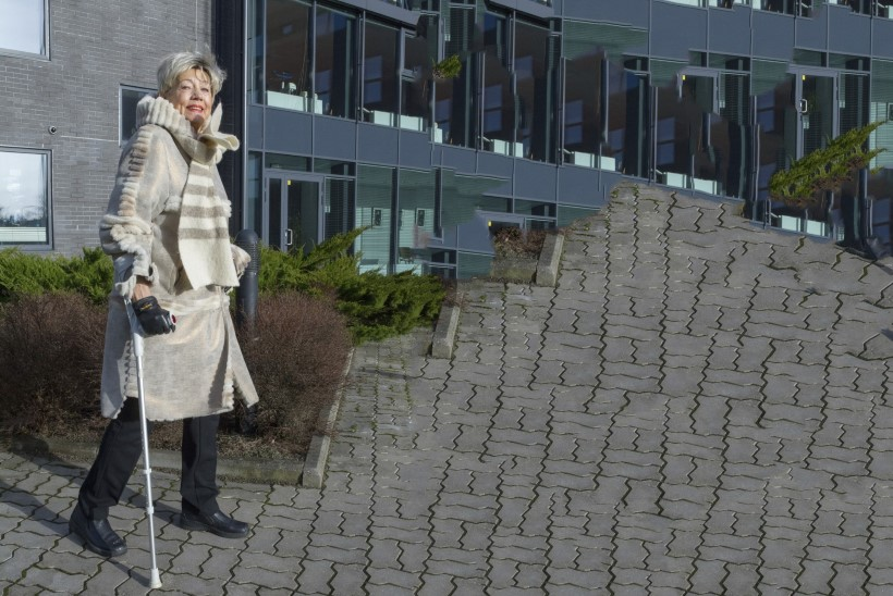 Ivi Eenmaa: õpin aasta jooksul teist korda kõndima