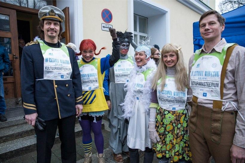 GALERII JA VIDEO   Lõbus vastlapäev III Estonia maratonil