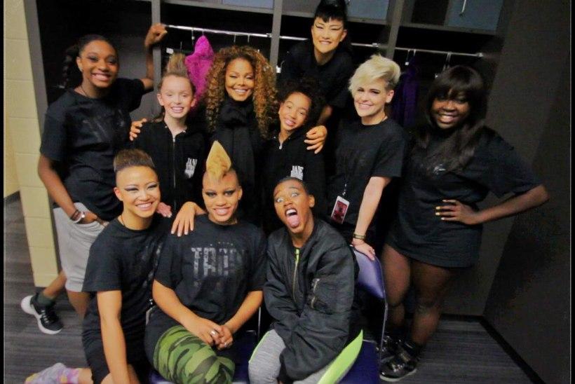 Janet Jacksoni lapstantsijad: lavameigi teeme ise, soengu seab ema