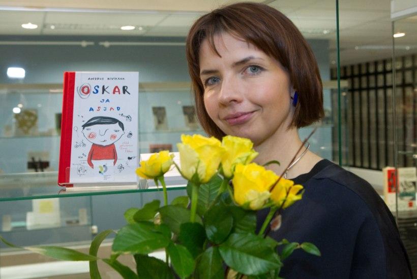 Illustraator Anne Pikkov: Kivirähki Oskari joonistasin oma poja moodi