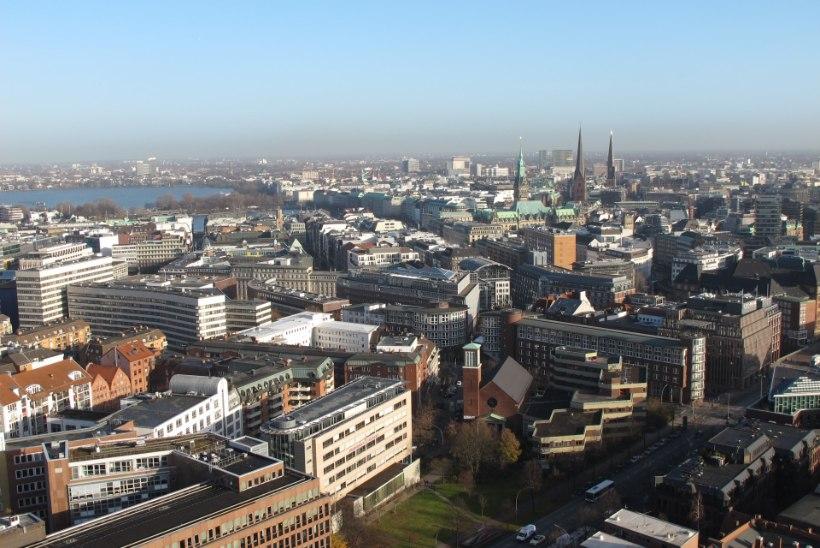 Sakslased armastavad Hamburgi linna