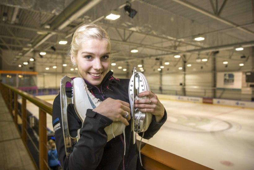 Uisuprintsess Helery Hälvin: pidude aeg tuleb pärast karjääri