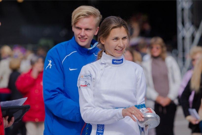 VAPUSTAV! Irina Embrich jõudis MK-etapil finaali ning sai teise koha