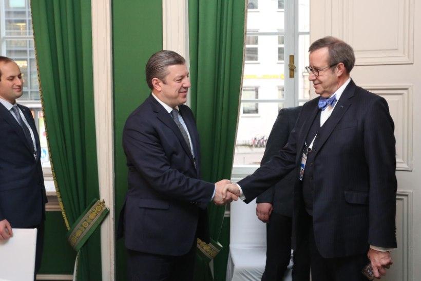 PILTUUDIS | President Ilves kohtus Gruusia peaministriga