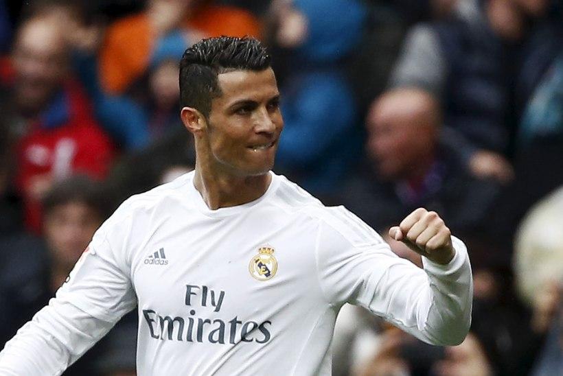 Vahelduseks jalgpalli kah: Cristiano Ronaldolt kaks väravat