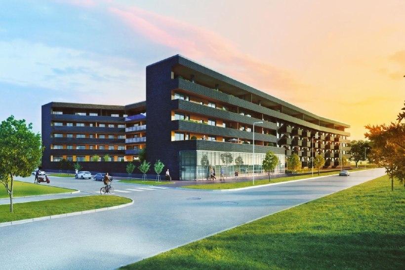 Arco Vara alustab Tallinnas Kodulahe elamuarendusprojekti I etapi kortermaja ehitust