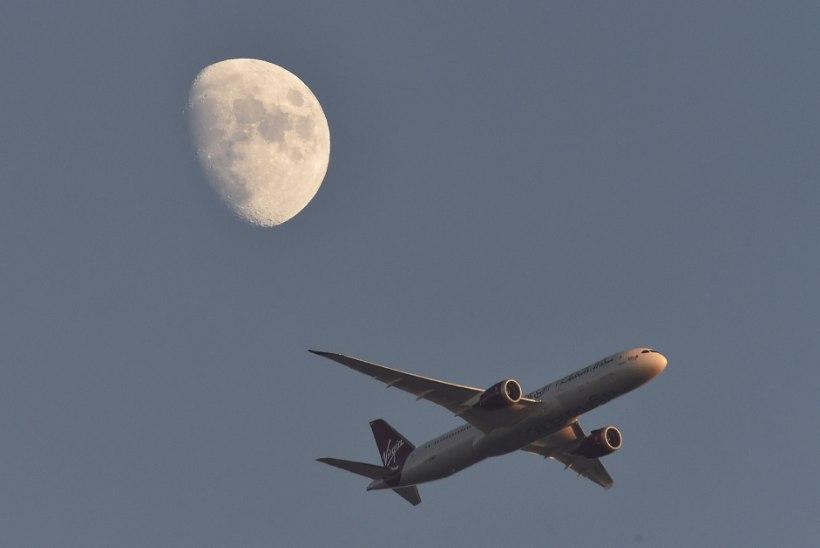 Virgin Atlanticu lennuk pöördus tagasi Heathrow'le, pilooti pimestas laserkiir