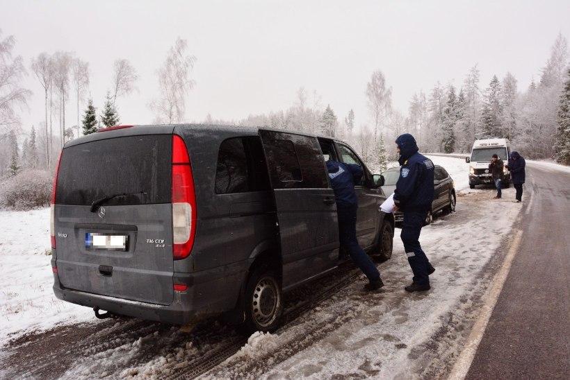 Leedu autovaraste bandeliikmete tabamiseks korraldas Eesti politsei enneolematu ajujahi