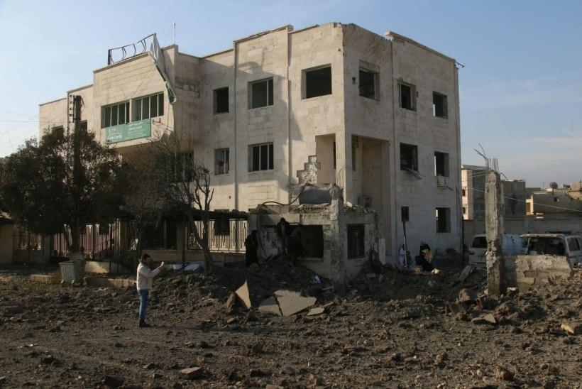 Süüria õhurünnakutes said raketitabamusi ka haiglad