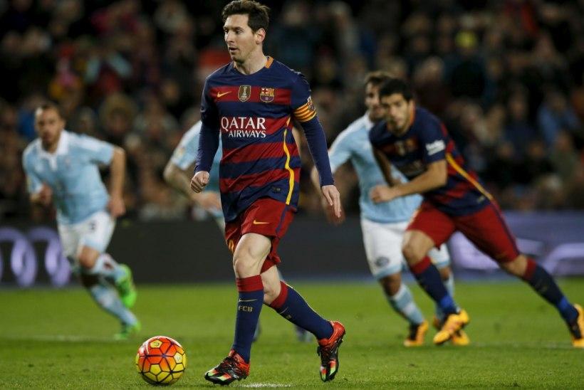 """Messi """"eksis"""" penaltilöögil, söötes Suarezele! Värav poleks tohtinud lugeda"""
