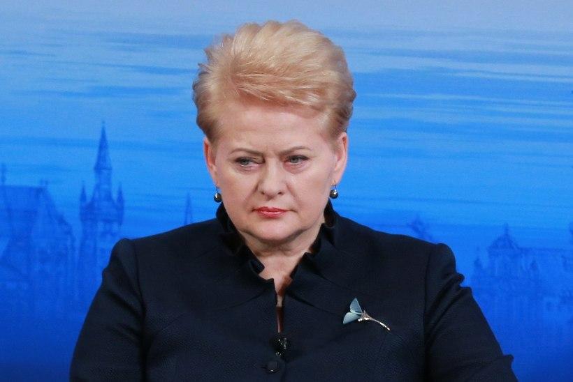Leedu president: globaalne julgeolekuolukord teravneb