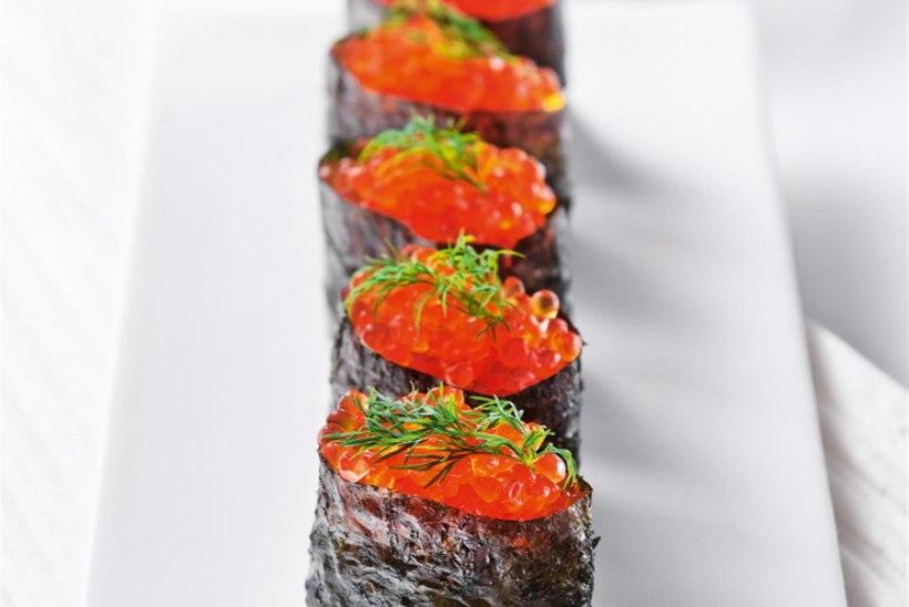 Gunkan-sushi kalamarjaga