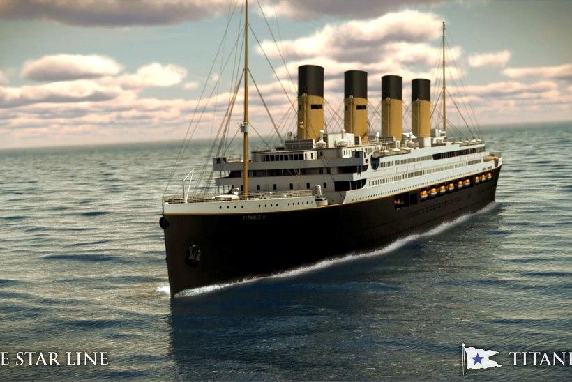 UUS TÄHTAEG: Titanic II teeb esimese merereisi kahe aasta pärast