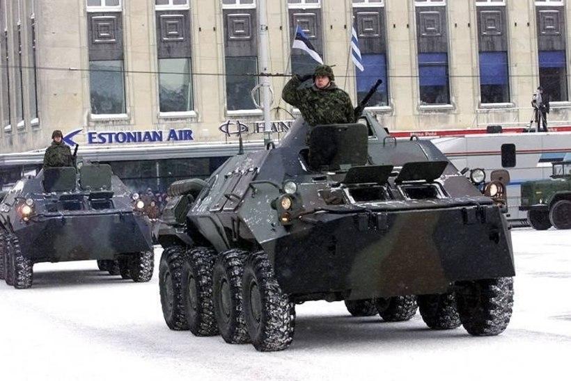 Tallinna ühissõidukid suunatakse paraadi ajal ümbersõidule