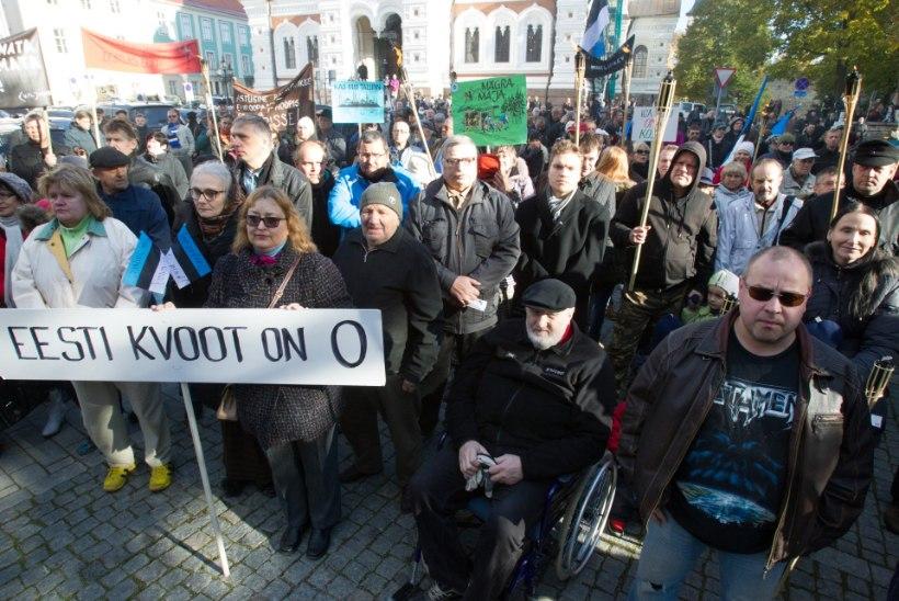Pagulasi meil pole, aga eestlaste jaoks on nad juba peamine mure
