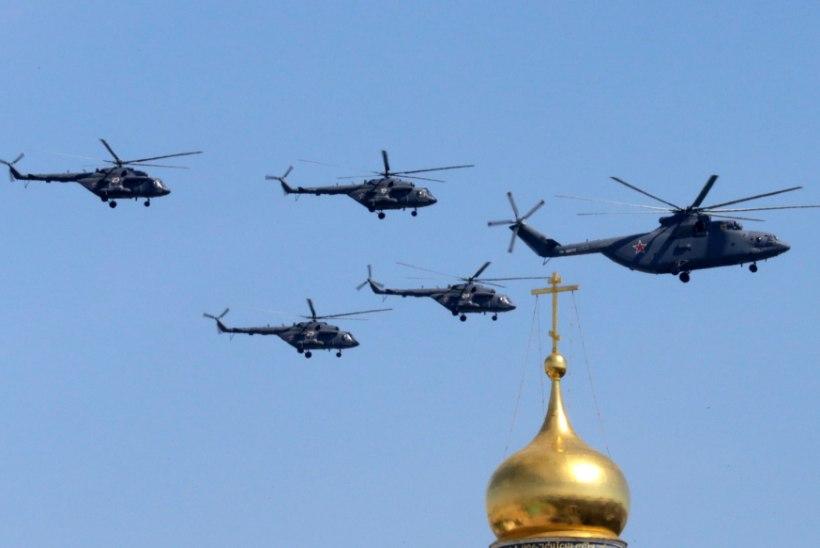 Venemaa Föderatsiooni kopter rikkus Eesti õhupiiri