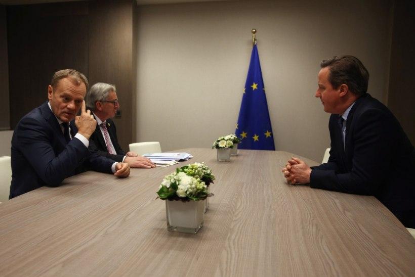 Euroopa Liidu väljakutsed: kas britid jäävad liitu, Türgi abi migratsioonikriisi lahendamisel