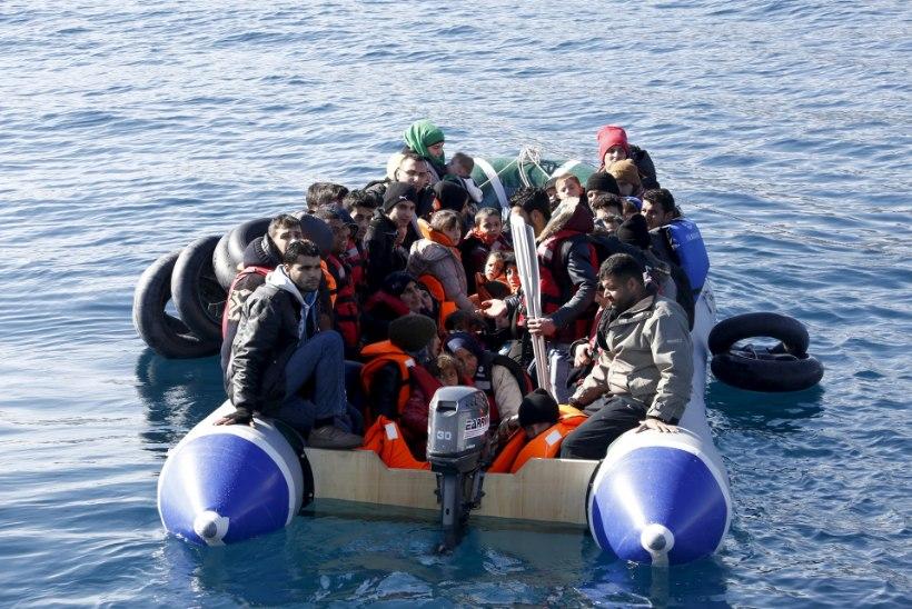 Põgenikevoog Euroopasse kestab