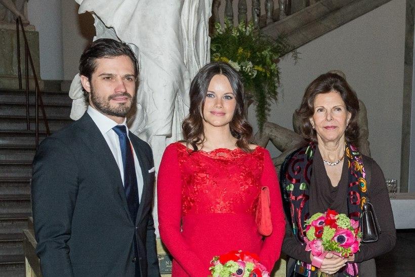 FOTOD   Kõhuke aina kasvab! Rootsi printsess Sofia kaunis lapseootus