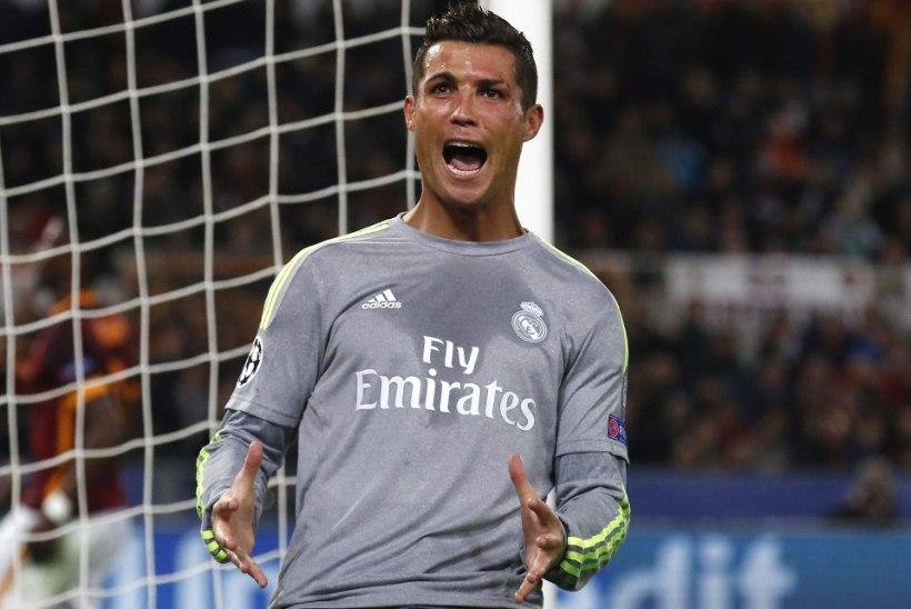 AS Roma pingutas, aga Cristiano Ronaldo otsustas