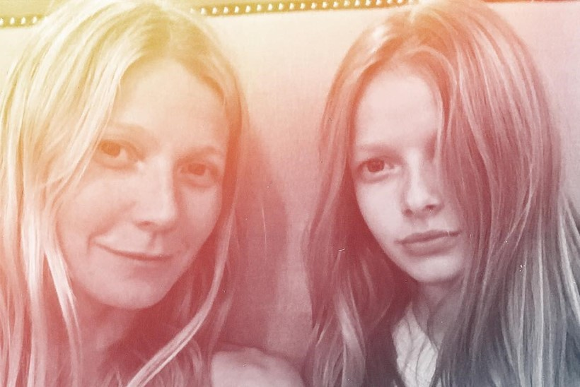 Paltrow 11aastane tütar käib Hollywoodi tippkosmeetiku juures