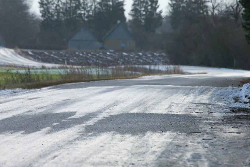 Ilm püsib sajune ja tuuline, teedele võib olla langenud puid või oksi